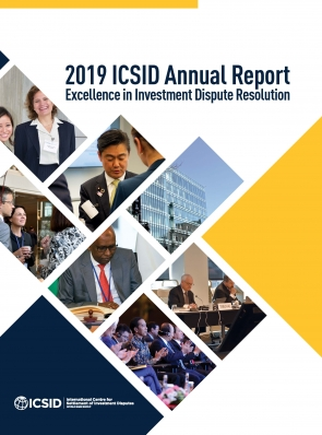 ICSID 2019 Annual Report Cover